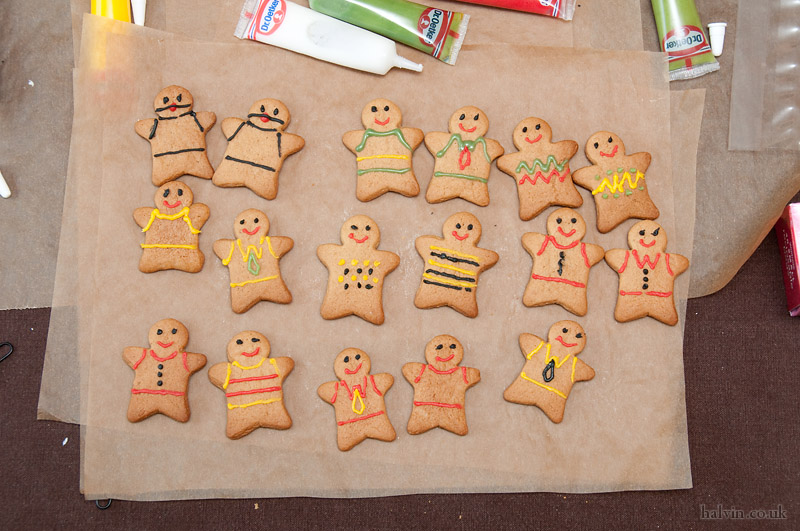 Our Wedding - I may have snuck in a couple of gingerbread gimps