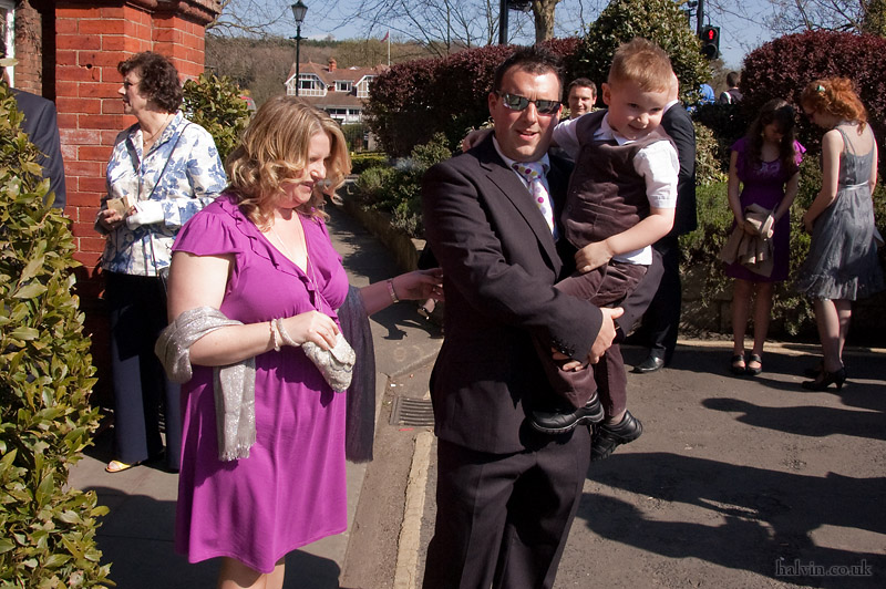Our Wedding - Joan, Andrew and Noah Shoesmith