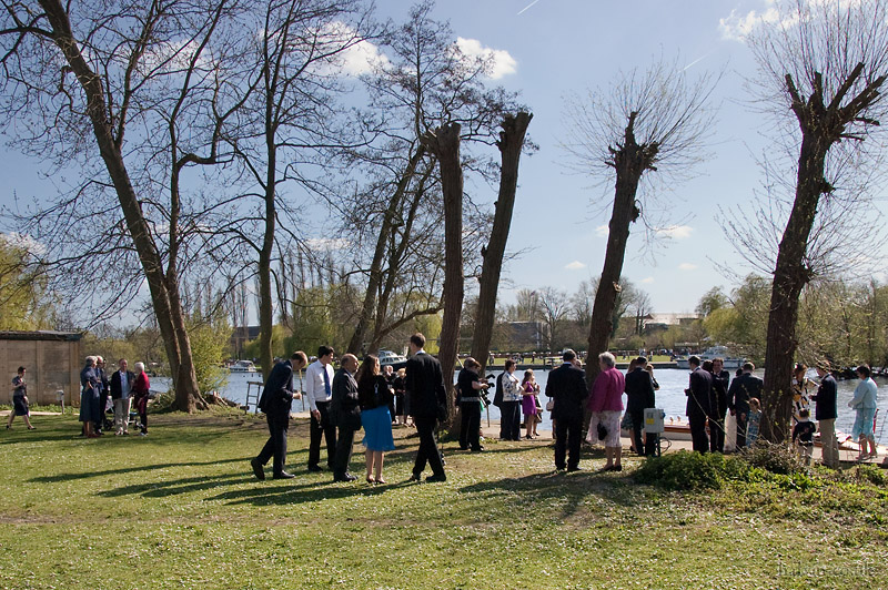 Our Wedding - The receptiopn at the Eyot Canoe Club