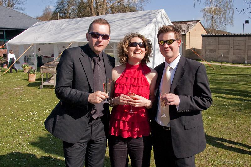Our Wedding - Monkeyrats Jimbo, Fi and Bob