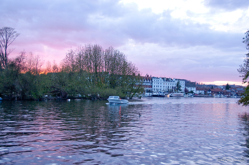Our Wedding - Sunset over Henley