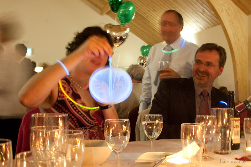 Our Wedding - The glowsticks are out