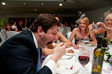 Photo: Kirstie and Paul's Wedding - Chris doing his dessert in one