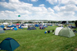 Photo: Glastonbury 2009 - The Dance Field as it's starting to fill