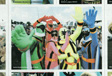 Image: Glastonbury 2009 - Close-up of the Power Rangers