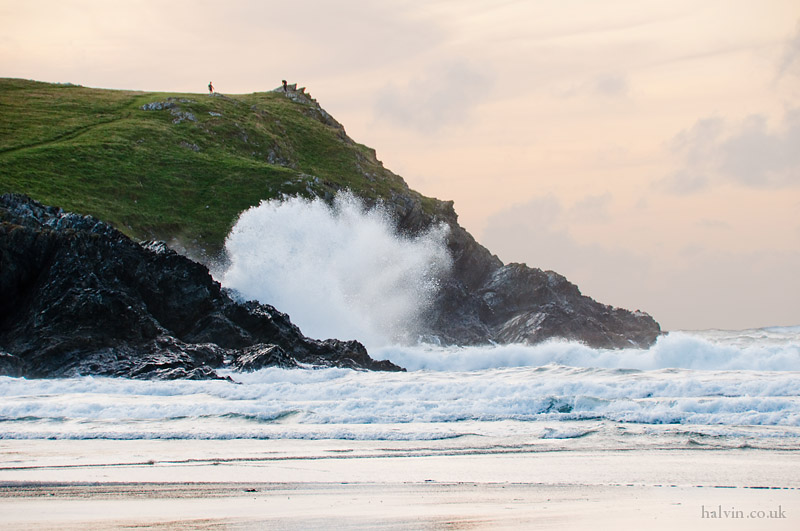 West Pentire - The sea at Porth Joke