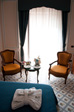 Thumbnail: Sorrento - Our room and some free but nasty fizzy wine