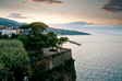 Picture: Sorrento - Sunset from our balcony