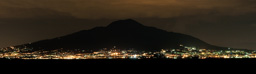 Image: Sorrento - Mount Vesuvius at night