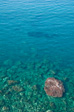 Photo: Sorrento - The sea with a shadow. It could be a whale, it could be a giant squid, it could be a whale fighting a giant squid. We just don't know.