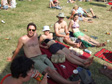 Images: Glastonbury 2010 - Mark, Anna, Niel and Laura