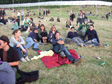 Picture: Glastonbury 2010 - Anna, Dylan, Jo, Libby, Mark, Tom and Sue.