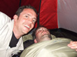 Gallery: Glastonbury 2010 - Anyone who's crashed out must have their tent raided.  Them's the rules.