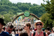 Image: Glastonbury 2010 - The path from West Holts to Greenpeace
