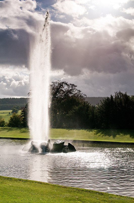 Parwich - The fountain at Chatsworth