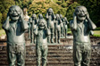 Photo: Parwich - Statues on the Cascade at Chatsworth