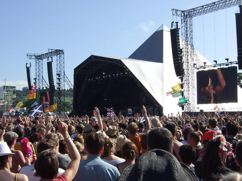 Glastonbury 2011 - Tinie Tempah