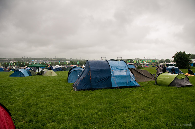 Glastonbury 2011 - Looking a bit grey