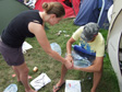 Picture: Glastonbury 2011 - Fly suit workshop